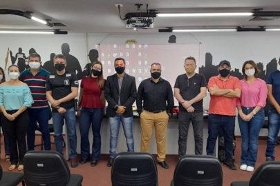 Equipe da Angardi e Polícia Civil Goiás